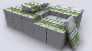 tante mazzette di 100 euro