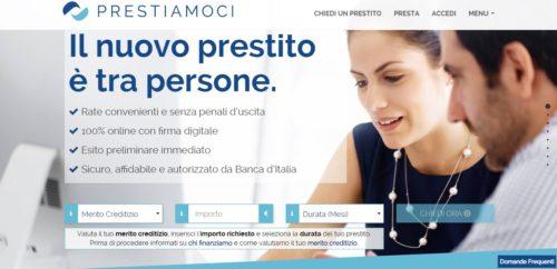 home page sito prestiamoci