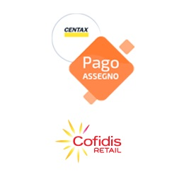 logo servizio pago assegno cofidis centax