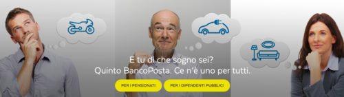 immagine sito web ufficiale poste italiane per cessione del quinto