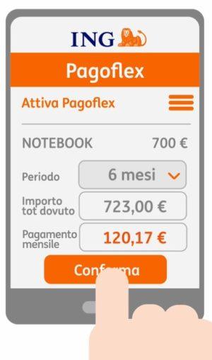 esempio calcolo rata servizio pagoflex