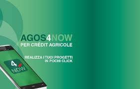 schermata sito ufficiale agos4now credit agricole
