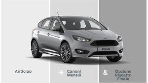schermata sito ufficiale ford sulle caratteristiche leasing auto