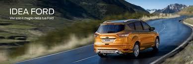 schermata sito ufficiale ford sul prodotto idea ford