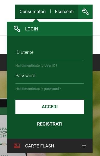 simulazione schermata app banca 5