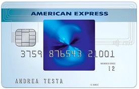 esempio carta blu american express