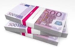 mazzette di soldi da 500 euro